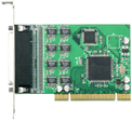 JetCard 1208 8-Port RS-232 Universal PCI Card